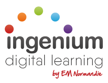 Ingenium Digital Learning by EM Normandie